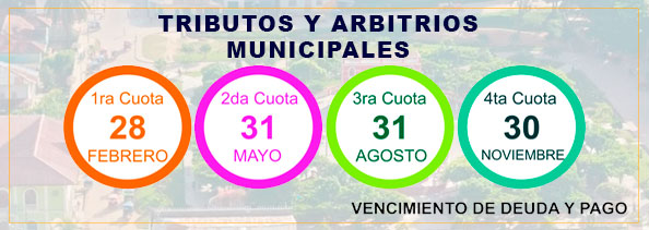 Arbitriosy Tributos Municipales 2019
